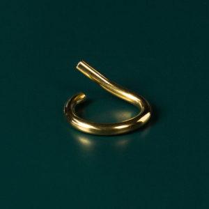 Brass Wiggle Flat Loop+left (1)