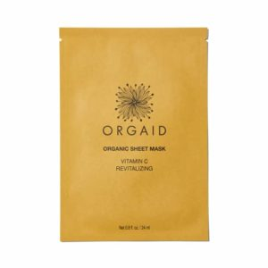 Orgaid Organic Sheet Mask Vitamin C