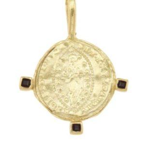 Byzantine Mandorle Medallion 1