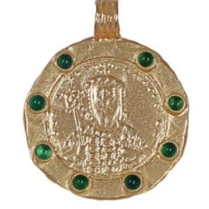 Constantinopolis Pendant With Jade 1